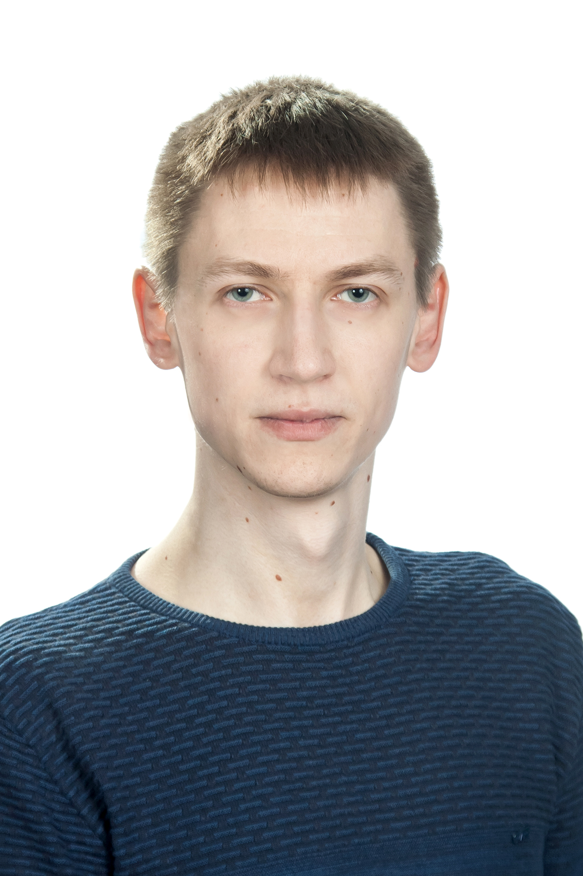 Белый Александр на стенд