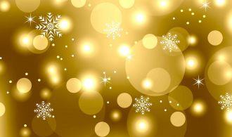Illustration Christmas floral packing, ornamental design elements - vector